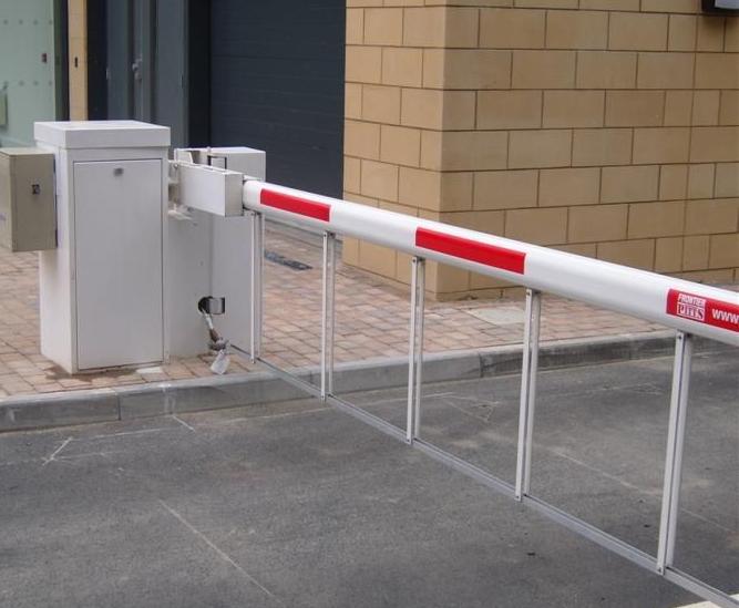 Braccio elettromeccanico per controllo accessi
