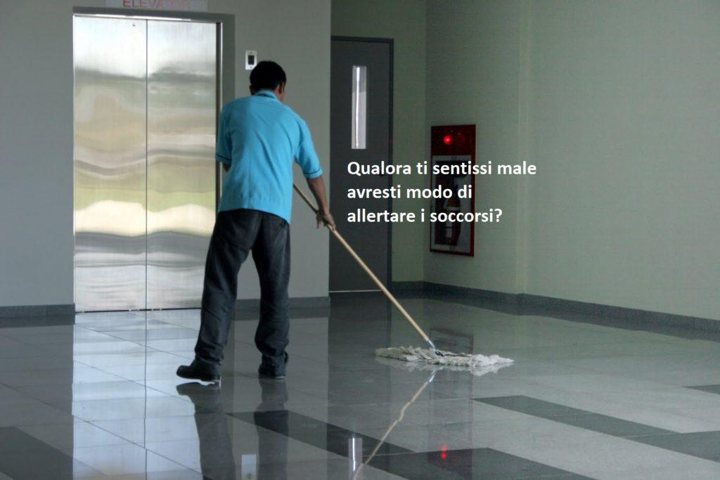 I passi da compiere per mettere in sicurezza il lavoratore solitario