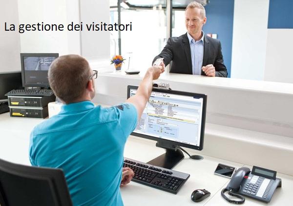 Gestione visitatori e controllo accessi in azienda