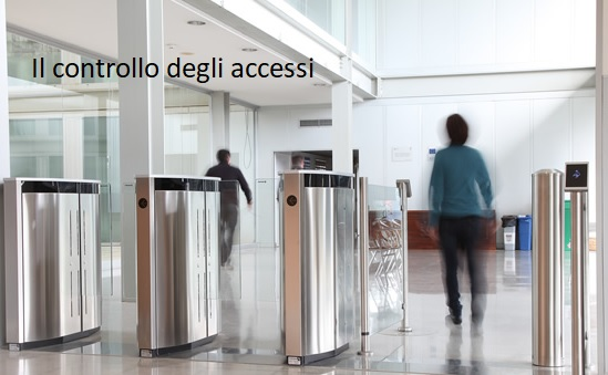 Controllo accessi in azienda