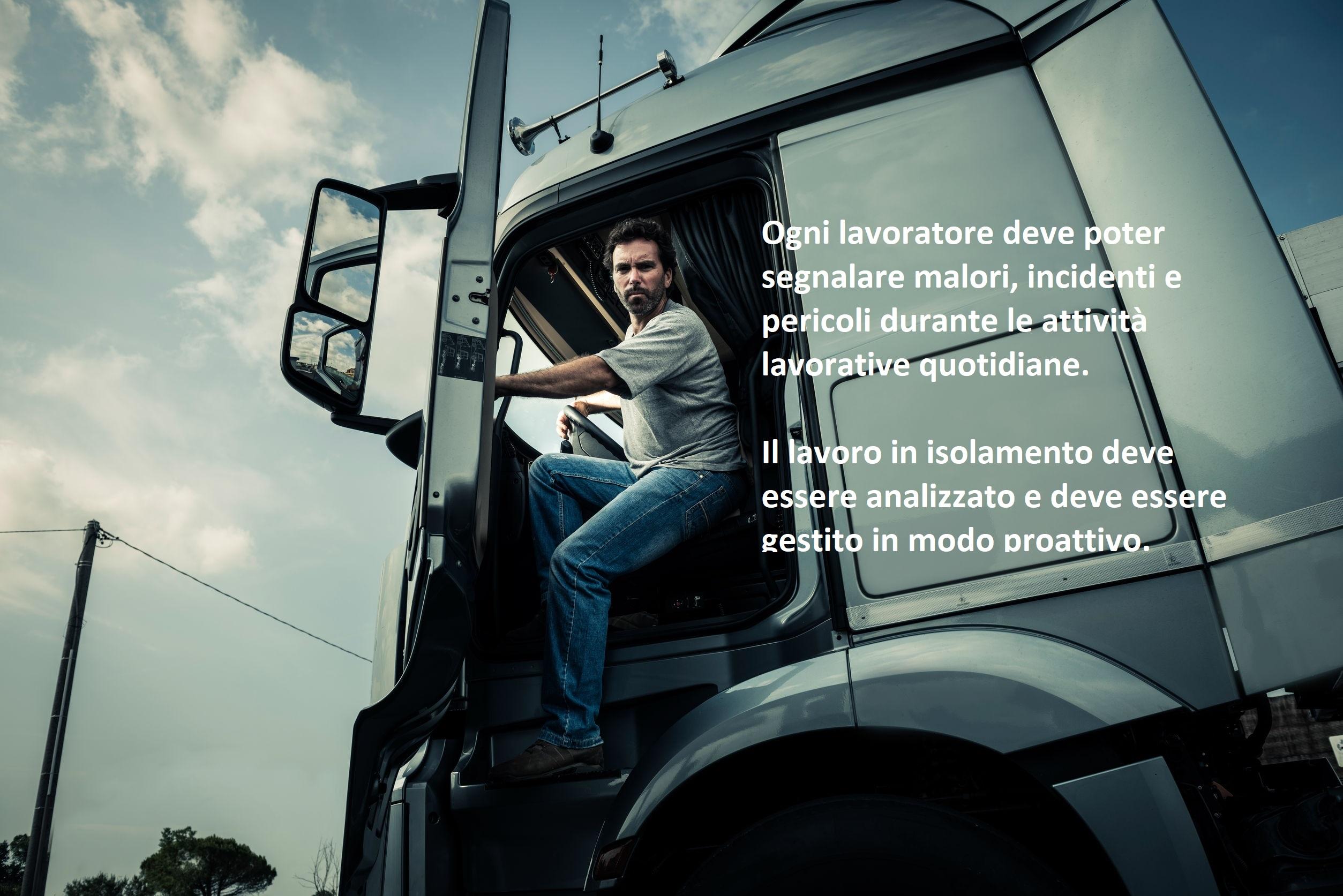 Sicurezza di autisti e autotrasportatori con apparecchi salvavita