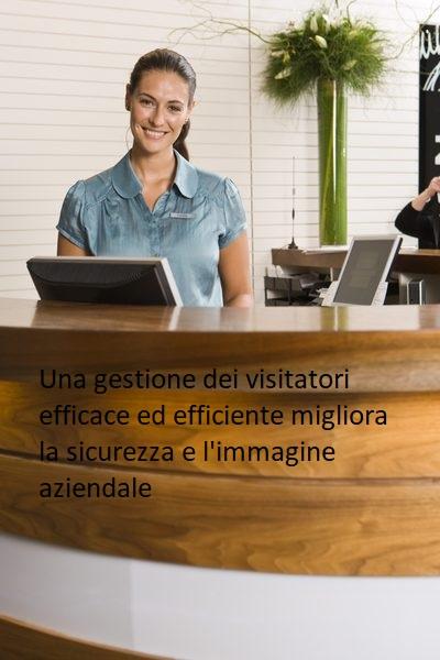 Gestione visitatori e reception