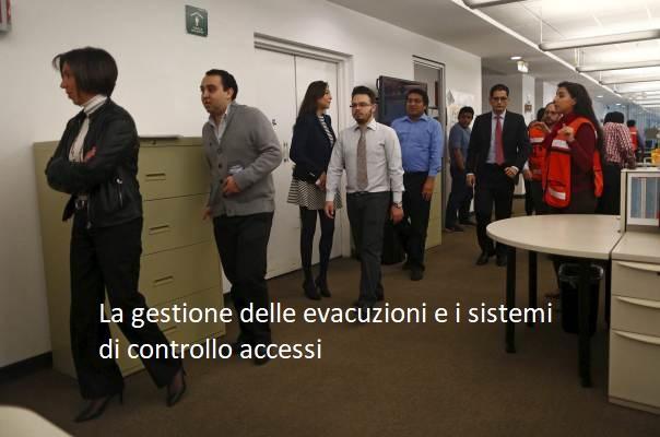 Controllo accessi e gestione delle evacuazioni