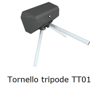 Tornello a tripode mono gamba TT01