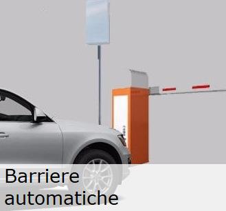 Barriere automatiche per controllo accessi veicolare