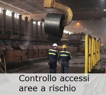 Controllo accessi nelle aree a rischio