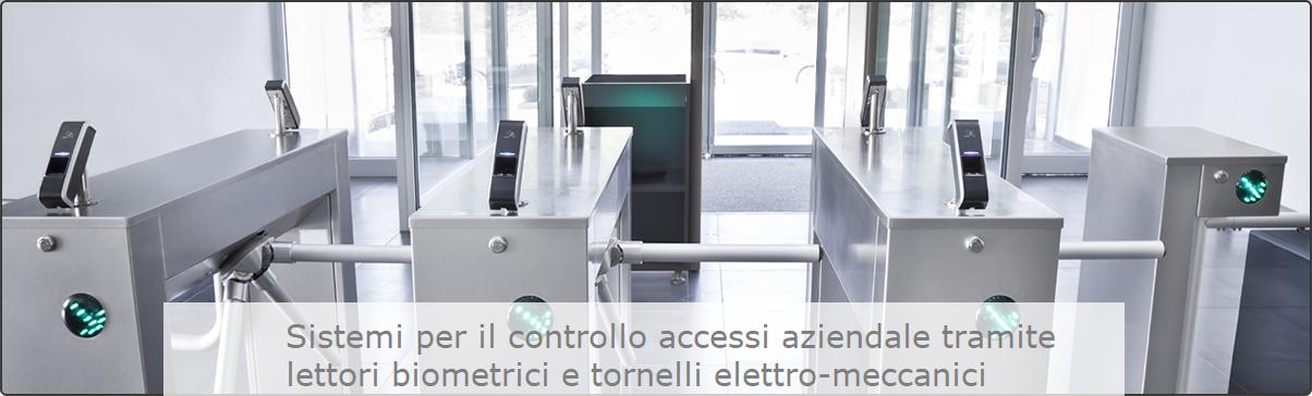Sistemi per il controllo accessi aziendali