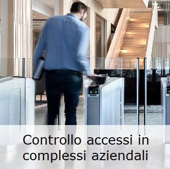Controllo accessi aziendale