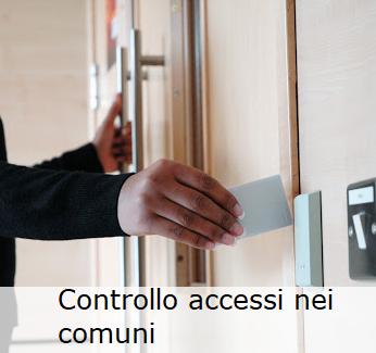 Controllo accessi all'interno dei comuni e delle pubbliche amministrazioni