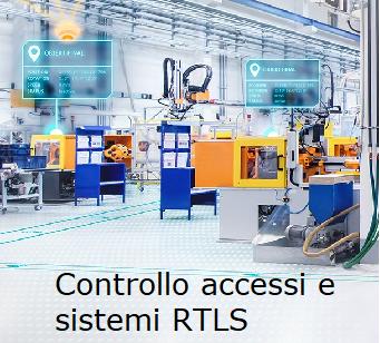Controllo accessi e sistemi RTLS