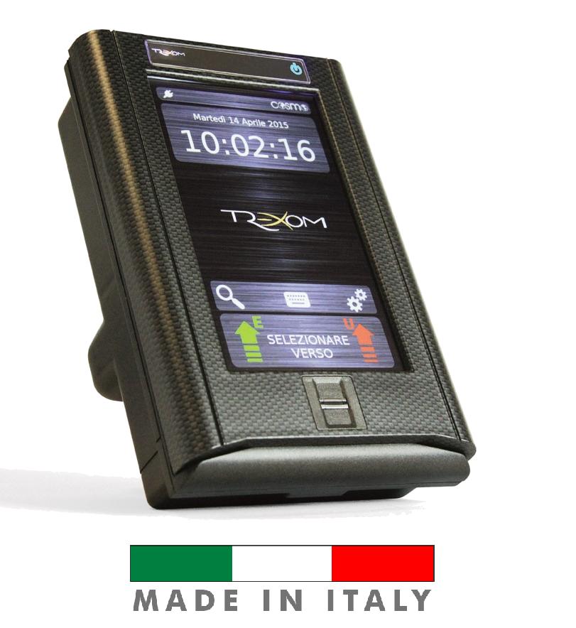 Cosmo Touch il terminale grafico stand-alone per il controllo accessi