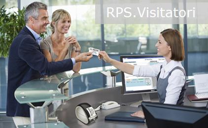 Rps Visitatori la soluzione integrata per la gestione degli accessi e la registrazione dei visitatori e delle aziende esterne.