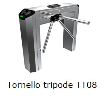 Tornello a tripode doppia gamba TT08