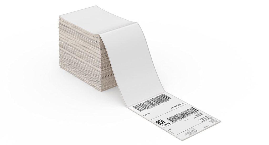 Etichette fan fold per pass visitatori