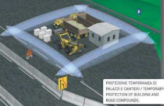 Soluzioni anti intrusione per cantieri edili