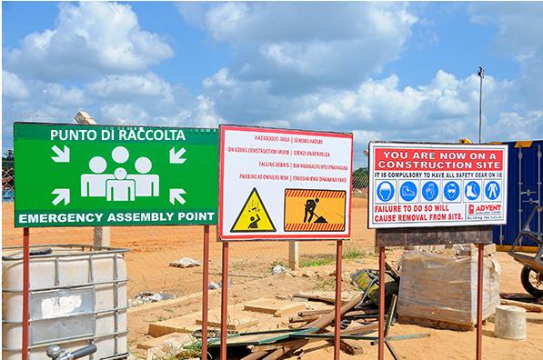 Gestione evacuazioni e appelli nei punti di raccolta nei cantieri edili